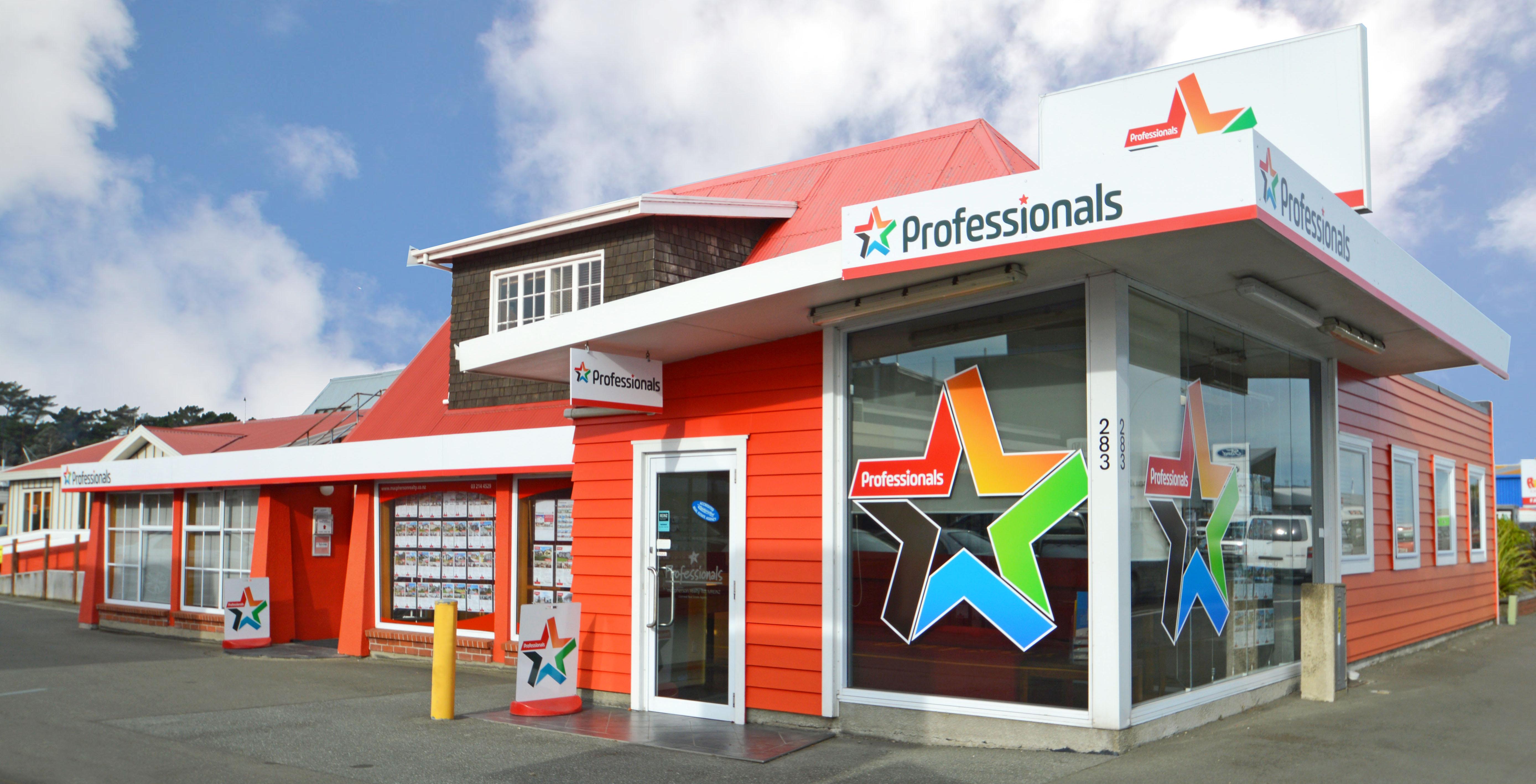 Professionals Invercargill Building