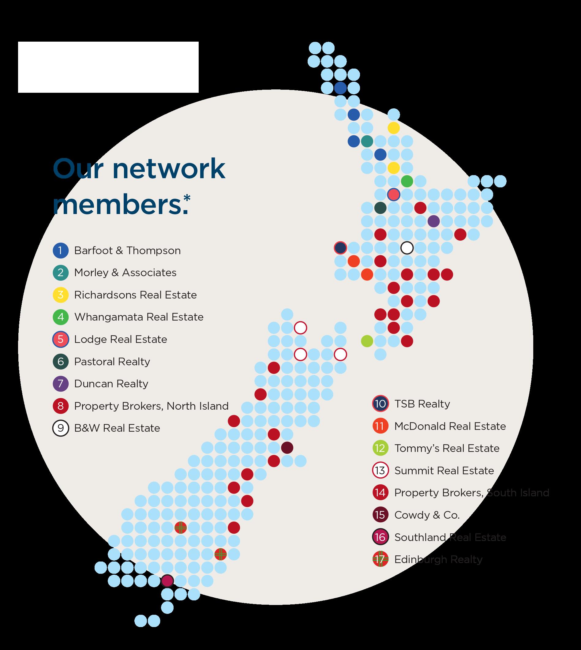 NZ Realtors map 2017